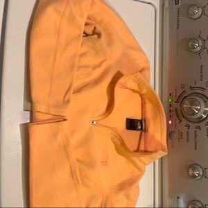Women's North Face Fleece Orange